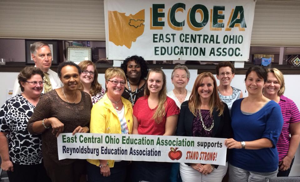 ECOEA supports the Reynoldsburg Education Association.