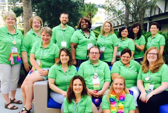 ECOEA delegates NEA Rep Assembly 2015 Orlando