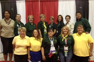 ECOEA delegates to the NEA Representative Assembly Denver, Colorado, July 2014