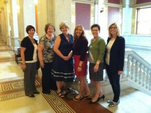 East Central was part of Lobby Day, June 11, 2013.