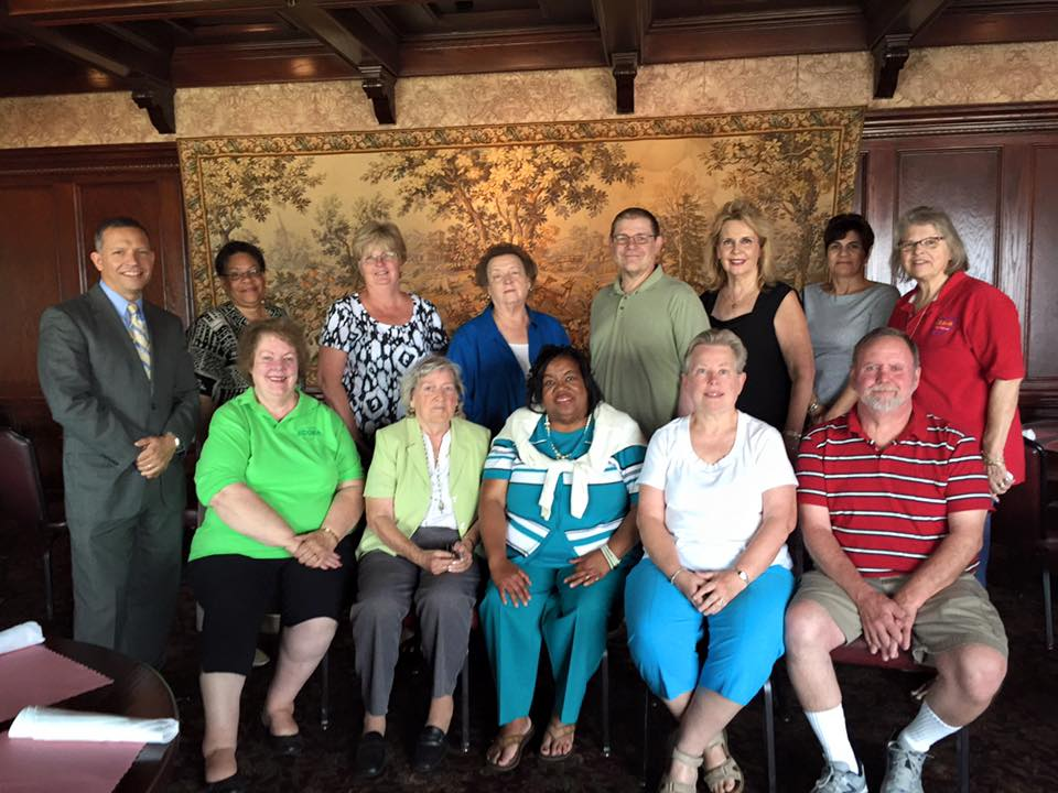 ECOEA-R August 2015 Not Back to School Luncheon Mulligan's Pub
